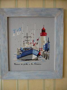 Морская тематика в дизайнах Isabelle Vautier - Страница 2 - Процессы французских дизайнов - Девичник - форумы по рукоделию