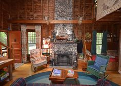 If you are looking for a memorable spot to stay in Northern Michigan you have found it here at Wyndenrok. This 100 year old 2 story cabin offers vintage charm and much history!