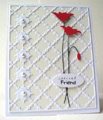 memorybox prim poppy cards - Google Search