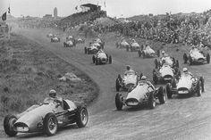 Alberto Ascari Ferrari Luigi Villoresi Ferrari 1953 Dutch GP