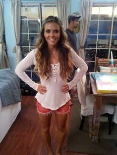 Katrina Hodgson.. shorts- access baggage.. top- free people