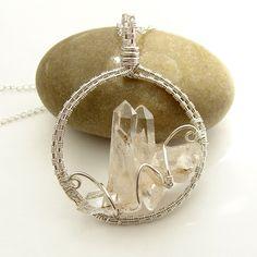 Crystal Castle Necklace by Ruth Jensen, via Flickr