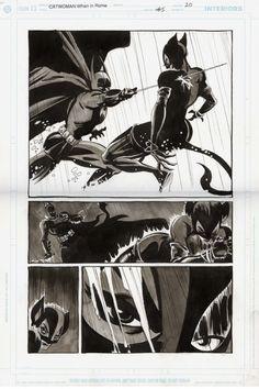 Sale - Catwoman:When in Rome - Batman Comic Art