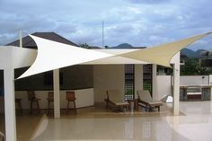 We custom make Impressive Shade Sails and Shade Structures.  We Design, Install, Repair and Replace Shade Sails Commercial and Domestic