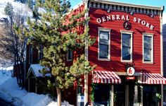 Travel Photography Historic Park City General by PetitePastiche, $30.00