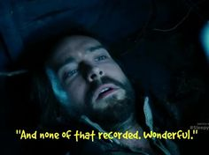 Ichabod tries to leave a message for Abbie during the Sleepy Hollow season 2 premiere #ConnecTV