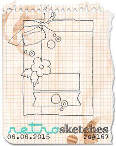 retro sketches : a challenge: retrosketches #167...