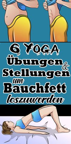 6 yoga exercises and postures to get rid of belly fat- 6 Yoga Übungen und Stellungen, um Bauchfett loszuwerden 6 yoga exercises and postures to get rid of belly fat - Fitness Workouts, Yoga Fitness, Fitness Motivation, Fitness Diet, At Home Workouts, Health Fitness, Healthy Sport, Health Challenge, Yoga For Weight Loss