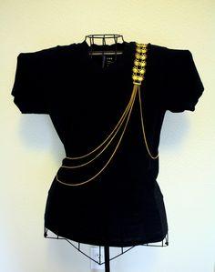 Body Chain Jewelry Body Harness Epaulette by DukeofJahan