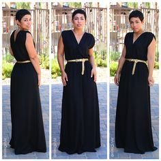 Easy DIY dress tutorial