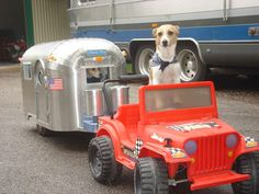 Airstream Dog House