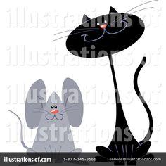 cat and mouse illustration - Hledat Googlem
