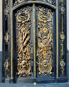 Bronze Door, Buenos Aires, Argentina