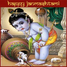 Read to your children about the significance and celebration of #Krishna #Janmashtami ...HAPPY JANMASHTAMI!