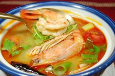 SS02P02dec12☆トムヤムクン☆(エビのスパイシースープ)人気のタイ料理!  timein.jp