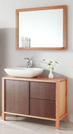 Bathroom Vanities , Exquisite Small Bath Vanity : modern-small-bath-vanity
