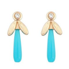 Turquoise Dragonfly Earrings  idr 75k or $7.5  FREE delivery around Indonesia  worldwide shipping  LINE : reginagarde  Shop online www.reginagarde.com