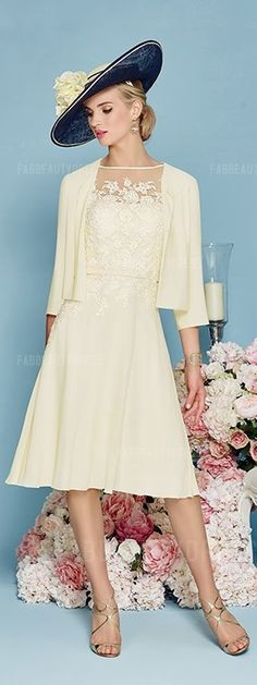 Cute mother of the groom dresses! Princess Bateau Knee-length Satin Chiffon Mother of the Bride Dress. See at http://www.cutedresses.co/product/princess-bateau-knee-length-satin-chiffon-mother-bride-dress/