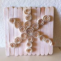 Quilling Snowflakes - Art Projects for Kids Christmas Art Projects, Winter Art Projects, School Art Projects, Craft Projects For Kids, Arts And Crafts Projects, Kids Christmas, Christmas Stuff, Christmas Crafts, Craft Ideas