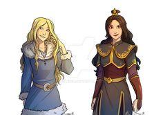 Avatar OC: Hana Quan + Princess Senzena -AtLA/TLK by Pixleigh.deviantart.com on @DeviantArt