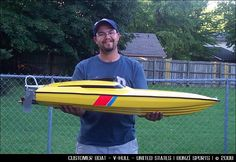 Check out this slick V-Hull boat for a customer in the U.S.