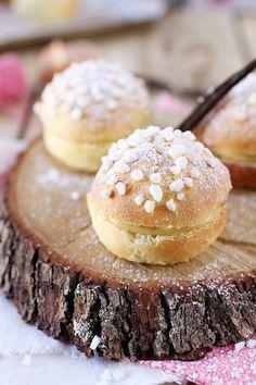 Tropéziennes bites aka cream stuffed choux pastry, a treat from St Tropez!