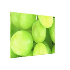 Grapes Stretched Canvas Prints #grapes #wine #canvaswrap