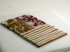 Polymer Clay Fabric, Before by CraftyGoat, via Flickr
