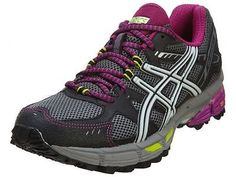 Asics Gel-Kahana 7 Womens T4G5N-9793 Titanium Plum Running Shoes Wmns Size 6.5