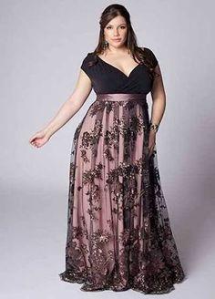 Resultado imagem para vestidos de festa plus size