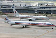 NEW AMERICAN AIRLINES NEW PLANES | American Airlines McDonnell Douglas MD-80 Fake Aviation Design ...