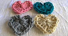 Learn How To Crochet A Heart With This Tutorial!