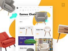 Furniture Ecommerce Concept