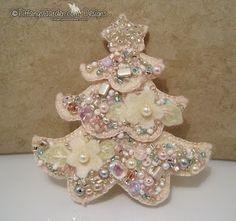 Beaded Christmas Tree Tutorial