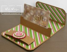 Pop-Up Holder | 24 Cute And Clever Ways To Give A Gift Card