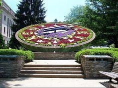 Floral Clock, Frankfort Ky