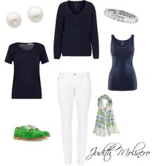 green by judith-molinero-fashion on Polyvore featuring Boutique, T By Alexander Wang, H&M, AG Adriano Goldschmied, TO&CO., Reeds Jewelers, Lucie Campbell and Rose & Rose