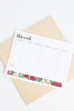 Weekly To Do List Free Printable | alice & lois