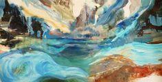 """Saatchi Art Artist Evie Kitt; Painting, """"All """" #art"""