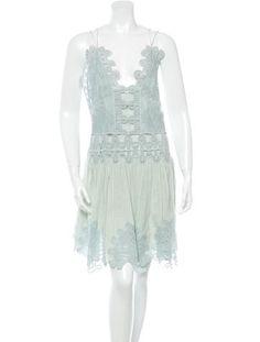 Chlo� Crochet Mini Dress w/ Tags