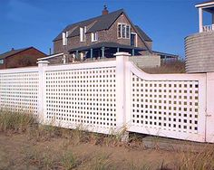 Fence Pictures: Square-Lattice Fences