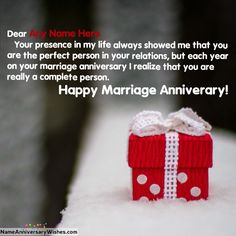 Gift Of Best Wishes On Your Marriage Anniversary Friend