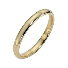 Personally simple is best for a wedding ring