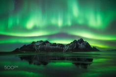"""A fantastic night where every shot was a """"wow"""". This photo is part of a time-lapse frame made of this magnificent scenery."""