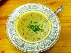 Vegan Cream of Mushroom Soup (With Cashew Cream)