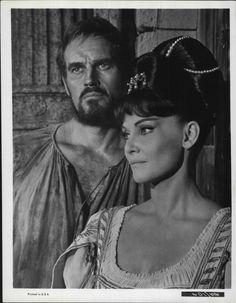 Charlton Heston & Diane Cilento