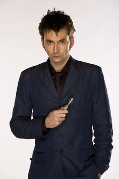 "Doctor Who Series 4 David Tennant as ""The Doctor"""