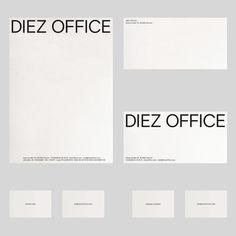 "ooooooooooffffffffffffffffffff: ""Identity and website for Diez Office """