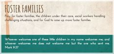 Pray A to Z: F is for Foster Families #prayer #PrayAtoZ