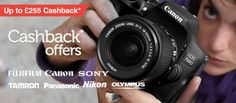 Don't miss out the cashback offers of up to £255 on the top photographic brands like Canon, Nikon and Sony, only at Wex Photographic. http://www.voucherish.co.uk/stores/wex-photographic/